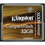 Kingston Ultimate CF/32GB-U3 CompactFlash (CF) Card