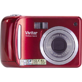 Vivitar ViviCam T324N 12.1 Megapixel Compact Camera - Graphite