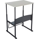 Safco AlphaBetter Desk, 28 x 20 Standard Top, w/o Book Box
