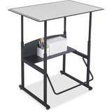 Safco AlphaBetter Desk, 36 x 24 Premium Top, w/o Book Box