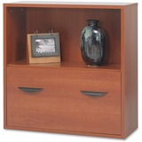 Safco Apres Modular Storage Shelf with Lower File Drawer