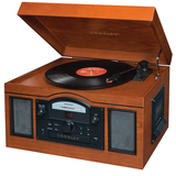 Crosley CR6001A Record/CD/Cassette Turntable