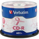 Verbatim 97440 CD Recordable Media - CD-R - 52x - 700 MB - 60 Pack Spindle
