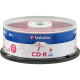 Verbatim 97454 CD Recordable Media - CD-R - 52x - 700 MB - 30 Pack Spindle
