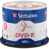 Verbatim 97455 DVD Recordable Media - DVD-R - 16x - 4.70 GB - 60 Pack Spindle