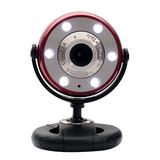 Gear Head WCF2750HDRED Webcam - Red, Black - USB 2.0