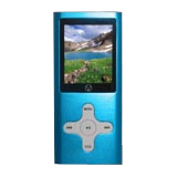Visual Land VL-G4 VL-567k 4 GB Blue Flash Portable Media Player
