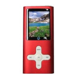 Visual Land VL-G4 VL-567k 4 GB Red Flash Portable Media Player