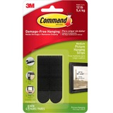 Command Medium Adhesive Picture Hanging Strips - 17201BLK