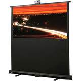 "Draper Piper 701453 Manual Projection Screen - 80"" - Portable 701453"