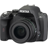 Pentax K-r 12.4 Megapixel Digital SLR Camera (Body with Lens Kit) - 18 mm-55 mm (Lens 1), 55 mm-300 mm (Lens 2) - Black
