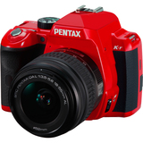 Pentax K-r 12.4 Megapixel Digital SLR Camera (Body Only) - Red