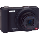 Pentax Optio RZ10 14 Megapixel Compact Camera - 5 mm-50 mm - Black