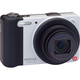 Pentax Optio RZ10 14 Megapixel Compact Camera - 5 mm-50 mm - White