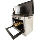 Camp Chef Camping Outdoor Oven with 2 Burner Camping Stove - COVEN