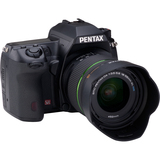 14762 - Pentax K-5 16.3 Megapixel Digital SLR Camera (Body with Lens Kit) - 18 mm - 55 mm - Black