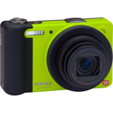 Pentax Optio RZ10 14 Megapixel Compact Camera - 5 mm-50 mm - Lime