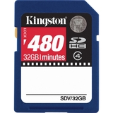 Kingston Video SDV/32GB Secure Digital High Capacity (SDHC)