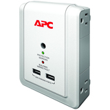 APC SurgeArrest Essential P4WUSB 4-Outlets Surge Suppressor P4WUSB