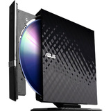 ASUS SDRW-08D2S-U DVD-Writer - Black - Retail - External