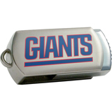 Centon DataStick Twist New York Giants Edition 16 GB Flash Drive - Silver