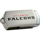 Centon DataStick Twist Atlanta Falcons Edition 2 GB Flash Drive - Silver