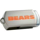 Centon DataStick Twist Chicago Bears Edition 2 GB Flash Drive - Silver