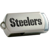 Centon DataStick Twist Pittsburgh Steelers Edition 2 GB Flash Drive - Silver