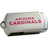 Centon DataStick Twist Arizona Cardinals Edition 4 GB Flash Drive - Silver