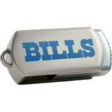 Centon DataStick Twist Buffalo Bills Edition 4 GB Flash Drive - Silver