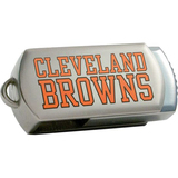 Centon DataStick Twist Cleveland Browns Edition 4 GB Flash Drive - Silver