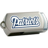 Centon DataStick Twist New England Patriots Edition 4 GB Flash Drive - Silver