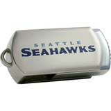 Centon DataStick Twist Seattle Seahawks Edition 4 GB Flash Drive - Silver