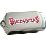 Centon DataStick Twist Tampa Bay Buccaneers Edition 4 GB Flash Drive - Silver