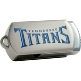 Centon DataStick Twist Tennessee Titans Edition 4 GB Flash Drive - Silver
