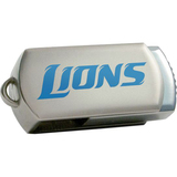 Centon DataStick Twist Detroit Lions Edition 8 GB Flash Drive - Silver