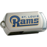 Centon DataStick Twist St. Louis Rams Edition 8 GB Flash Drive - Silver
