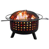 Landmann 26314 City Lights Memphis Wood Fireplace