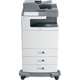 Lexmark X792DTE Laser Multifunction Printer - Color - Plain Paper Print - Desktop