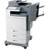 Lexmark X792DTSE Laser Multifunction Printer - Color - Plain Paper Print - Floor Standing