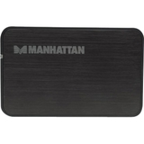 MANHATTAN 130196 Storage Enclosure - External - Black