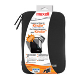 Maxell 191067 Carrying Case for Digital Text Reader - Black, Silver