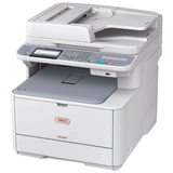 Oki MC361 Multifunction HD Colour LED Printer Scan Copy Fax 1200X600DPI Duplex USB Network