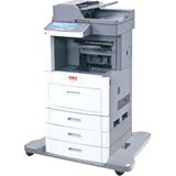 Oki MB790F LED Multifunction Printer - Monochrome - Plain Paper Print - Desktop