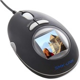 Interlink VP6154 Mouse - Optical - Wired - Black