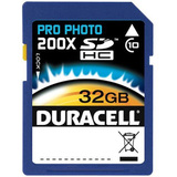 DU-SD1032G-C - Duracell DU-SD1032G-C 32 GB Secure Digital High Capacity (SDHC) - 1 Card