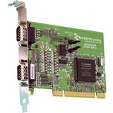 Brainboxes UC-313 2-port Universal PCI Serial Adapter