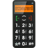 Just5 J509 Cellular Phone - Bar - Black - J509BLACK