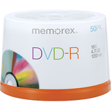 Memorex 05619-3PK DVD Recordable Media - DVD+R - 16x - 4.70 GB - 150 Pack Spindle