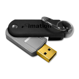 Imation Defender F50 Pivot Flash Drive - 32 GB